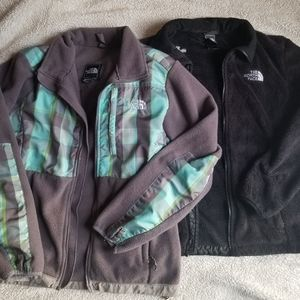Size medium the north face jackets